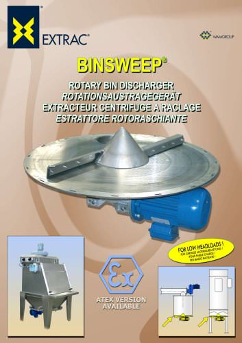 Rotary Bin Discharger BINSWEEP Brochure
