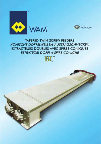 Taperd Twin Screw Feeders BU  Brochure