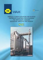 Vertical Screw Eleator for Sludge SVE Brochure
