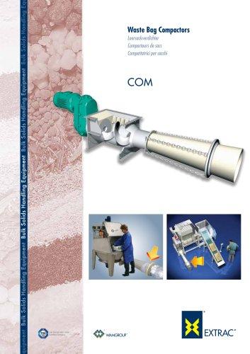 Wast Bag Compactor COM Brochure
