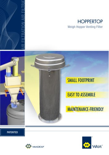 Weigh Hopper Venting Filter HOPPERTOP Brochure