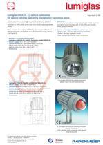 ATEX: Lumiglas VISULEX Driving Luminaire Model USL 07-Ex