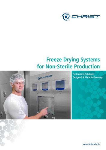 Freeze Drying Systems for Non-Sterile Production