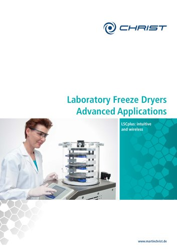 Laboratory Freeze Dryers Advanced Applications