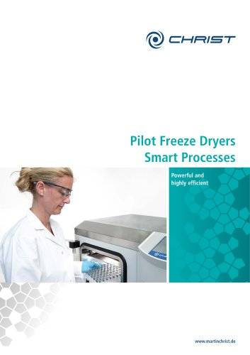 Pilot Freeze Dryers Smart Processes