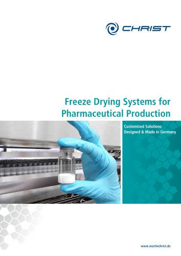 Production Freeze Dryers
