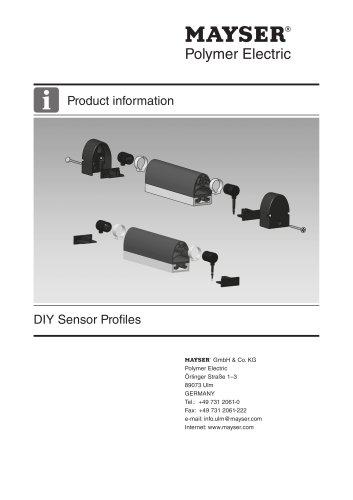 DIY Sensor Profiles