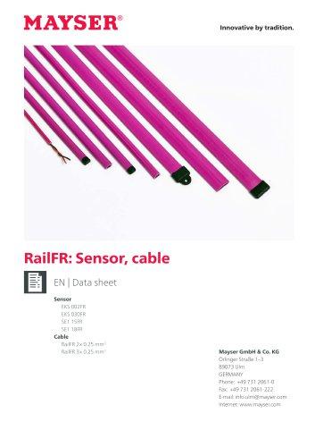 RailFR: Sensor, cable