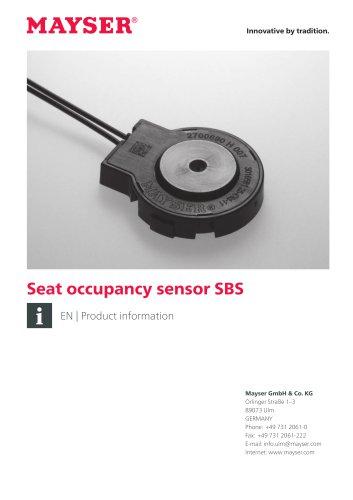 Seat occupancy Sensor SBS