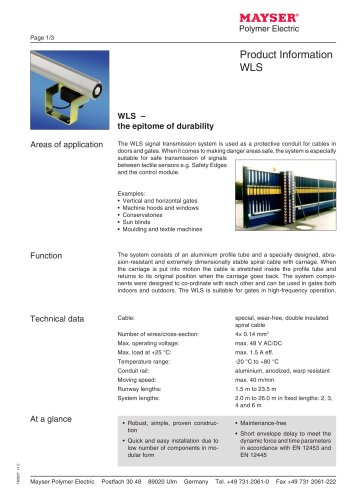 Transmission Systems WLS