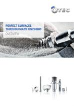 PERFECT SURFACES THROUGH MASS FINISHING OVERVIEW