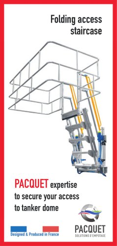Product Introduction - Folding stairs
