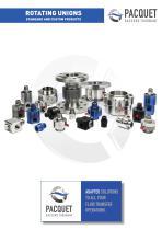 Product range Pacquet Raccord Tournant
