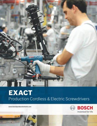 EXACTProduction Cordless & Electric Screwdrivers
