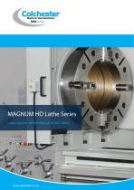 MAGNUM HD Lathe Series