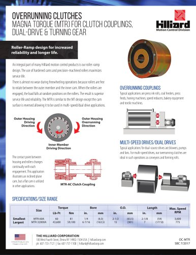 Dual Drive & Turning Gear