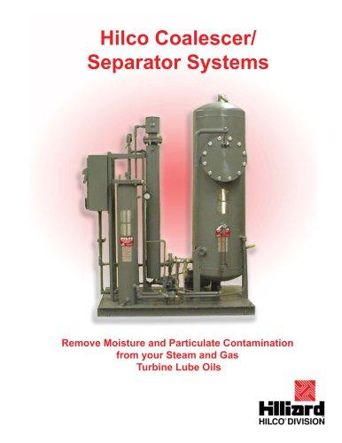 Hilco Coalescer Separator Systems