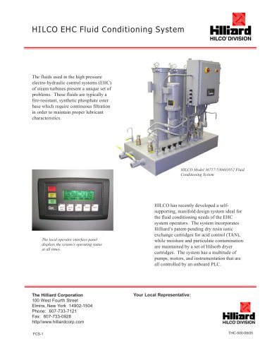 Hilco EHC Fluid Conditioning System