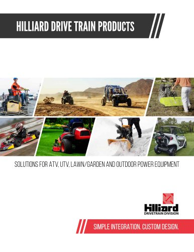 Hilliard Drive train products