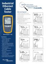 Industrial Ethernet Cable Tester