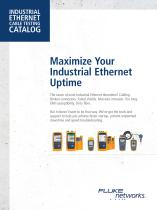 INDUSTRIAL ETHERNET CABLE TESTING CATALOG