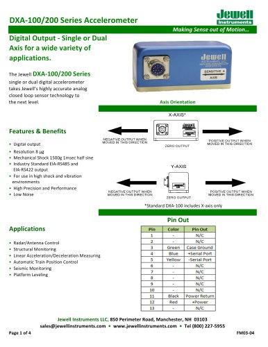 DXA 100/200 Data Sheet