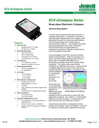 ECS eCompass Datasheet