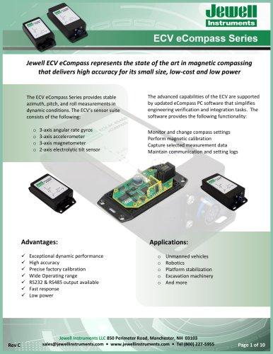 ECV eCompass Datasheet