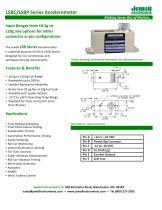 LSB Accelerometer Datasheet