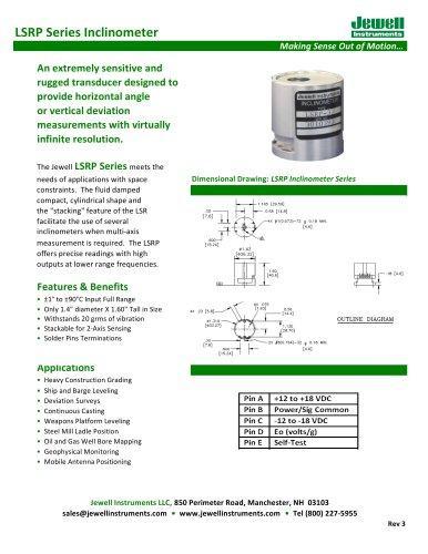 LSR Datasheet