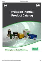 PRECISION LINEAR & ANGULAR ACCELEROMETERS