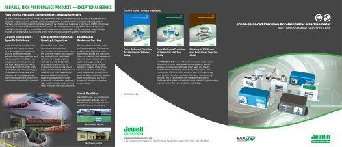 Rail Sensor Selector Guide
