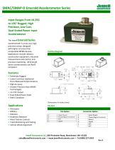 SMA Accelerometer Series Datasheet