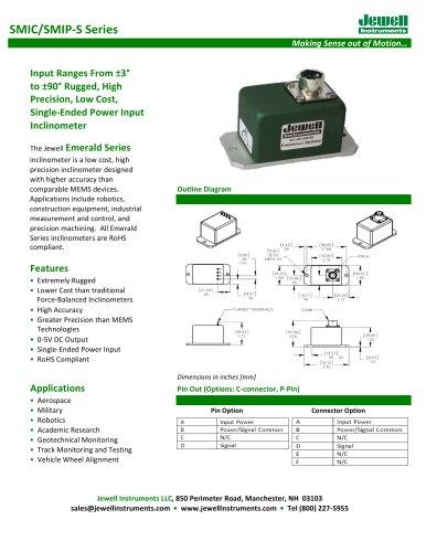 SMI-S, 0-5V Output