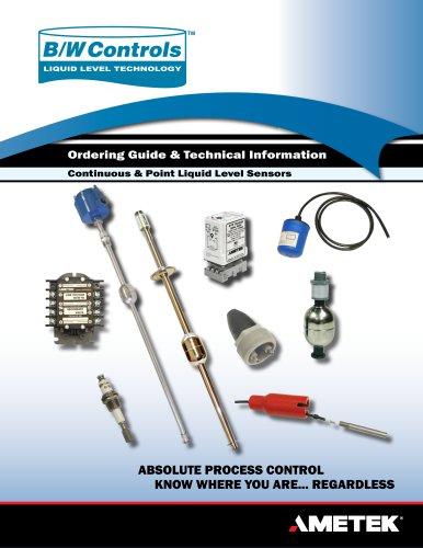 B/W Controls Catalog