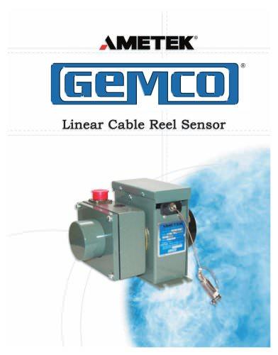 Linear Cable Reel Sensor