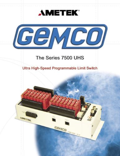 Resolver Based PLS - 7500 UHS Programmable Limit Switch
