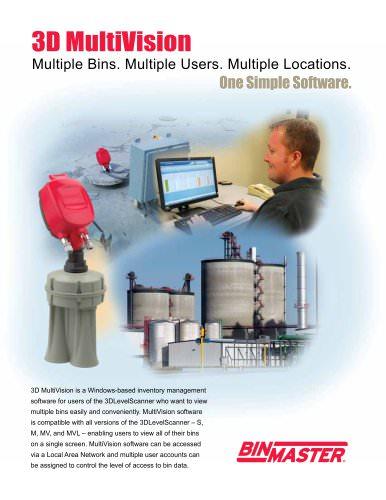 3D MultiVision Software Brochure