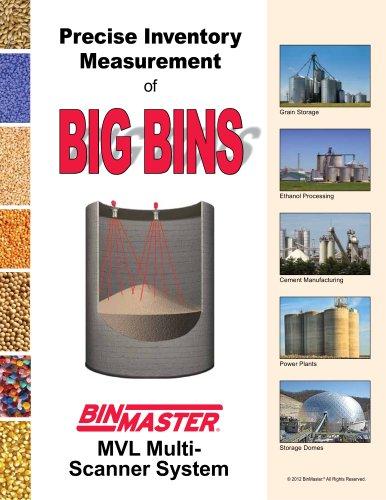 3D MVL Multi-Scanner System for Big Bins