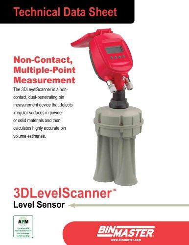 BinMaster 3DLevelScanner Technical Data