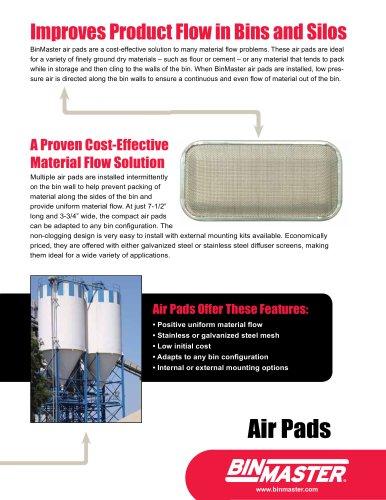 BinMaster Air Pad Brochure