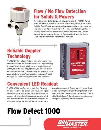 BinMaster Flow Detect 1000 Brochure