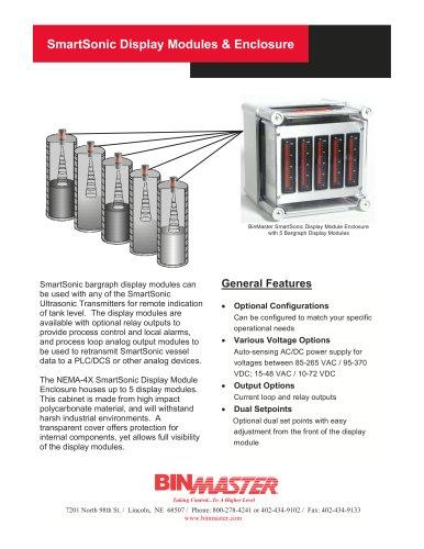 BinMaster SmartSonic Display Brochure
