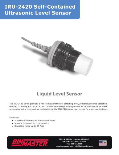 IRU-2420 Self-Contained Ultrasonic Level Sensor Brochure