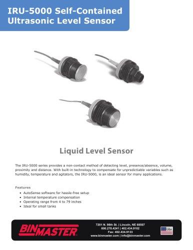 IRU-5000 Self Contained Ultrasonic Level Sensor Brochure