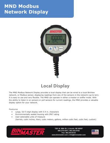 MND Modbus Network Display