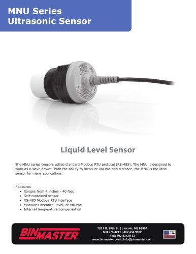 MNU Modbus UltraSonic Sensor Brochure