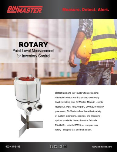Rotary Product Line Brochure