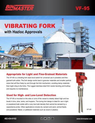 Vibrating Fork brochure