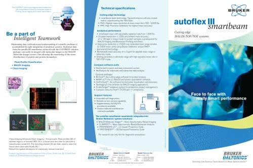 Brochure autoflex III & autoflex III TOF/TOF